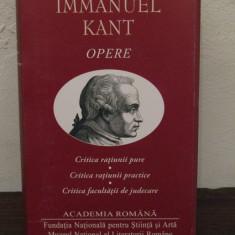 IMMANUEL KANT -OPERE ( ED. DE LUX, ACADEMIA ROMANA  )