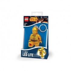 LEGO Star Wars, Breloc cu lanterna - C-3PO