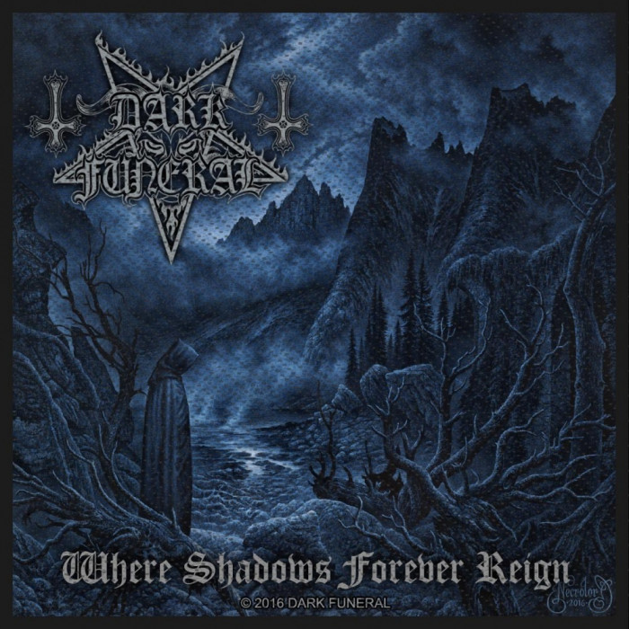 Patch Dark Funeral: Where Shadows Forever Reign