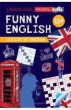 Funny English 13 ani+ Jocuri si enigme (Larousse) - Sandra Lebrun