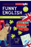 Funny English 10 ani+ Jocuri si enigme (Larousse) - Sandra Lebrun