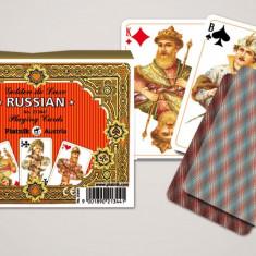Cărți de joc  de lux Rusia. Punte dublă. Piatnik.