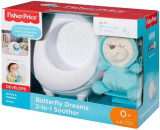Jucarie Fisher Price Butterfly Dreams 2 In 1 Soother, Mattel