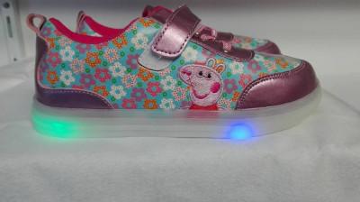 Adidas cu led Disney, Pepa Pig foto