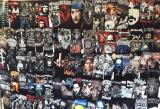 200 tricouri Metallica,AC/DC,Slipknot,Guns n Roses,Linkin Park,Motorhead,cranii, L, M, S, XL, XXL, Maneca scurta, Negru