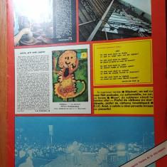 Revista flacara 15 noiembrie 1975-articol si foto satul rasinari ,judetul sibiu