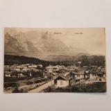 BUSTENI-VALEA ALBA-CARTE POSTALA CIRCULATA LA 1911