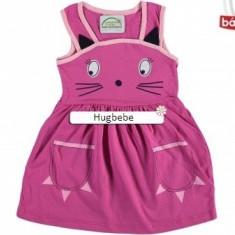 Rochita sarafan Pisica roz