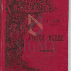 ALEXANDRU PETOFI ( TRADUCERE DE ST. O. IOSIF ) - POEZII ALESE, CRAIOVA, 1896