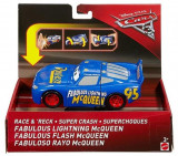 Jucarie Disney Cars Disney Cars 3 Super Parent Of Sage Lightning Mcqueen, Mattel