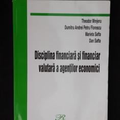 DISCIPLINA FINANCIARA SI FINANCIAR VALUTARA A AGENTILOR THEODOR MREJERU