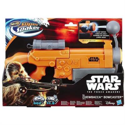 Pistol Cu Apa Nerf Super Soaker Star Wars Chewbacca foto