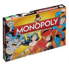 Joc Dc Comics Retro Edition Monopoly Board Game