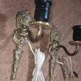Set doua aplice din bronz