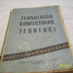 tehnologia confectiilor din tesaturi- an 1959