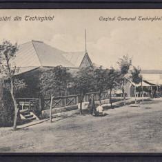 SALUTARI  DIN TECHIRGHIOL CAZINO  CASINUL COMUNAL   EDITURA  GHEORGHE I. FUFA, Circulata, Printata