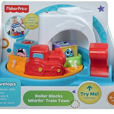 Jucarii Fisher Price Roller Blocks Whirling Train Town