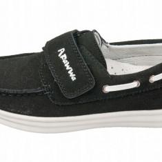 Pantofi mocasini piele , baieti,32-37