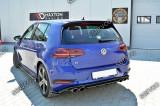 Set ornamente stopuri bara spate Volkswagen Golf 7 Mk VII R Facelift  v2, GOLF VII (5G1) - [2012 -   ]