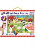 Giant Floor Puzzle: Ferma (30 piese), Galt