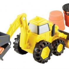 Jucarie Bob The Builder Mash & Mold Scoop Vehicle, Mattel