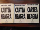Cartea neagra. Suferintele evreilor din Romania, 3 vol - Matatias Carp (1996)