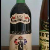 Lot 2  vinuri colectie italia anii 60, Demi-sec, Negru, Europa