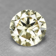 DIAMANTE NATURALE CHAMPAGNE-0.3 CT, Briliant