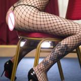 Dresuri cu deschidere Sexy , Erotic Model, One size, Negru