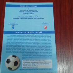 program          ACU Arad  -  CFR  Timisoara