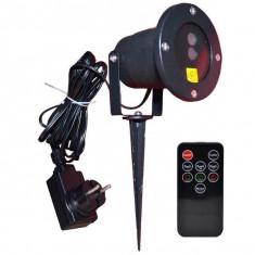 Laser de exterior cu joc de lumini si telecomanda