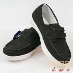 Pantofi mocasini piele baieti