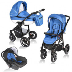 Carucior Crooner 3 in 1 - Vessanti - Blue