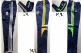 PANTALONI TRENING,MODEL CONIC, ROMANIA SI REAL MADRID,LIVRARE GRATUITA, L/XL, M/L, Alb, Galben, Verde