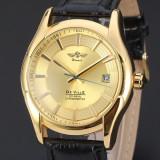 Ceas barbatesc Automatic Winner De Ville Gold, Elegant