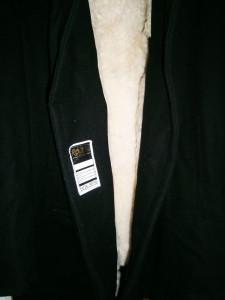 Palton barbati stofa-blana naturala Rovex, mar XL, stare foarte buna!