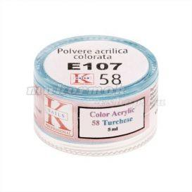 Praf acrilic albastru - 3,5 g