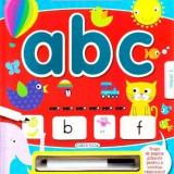 Scrii si stergi - ABC, girasol