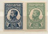 1917 Romania,LP 70 a-Ferdinand ;necirculate(Moscova),25 si 40 bani-MNH, Regi, Nestampilat