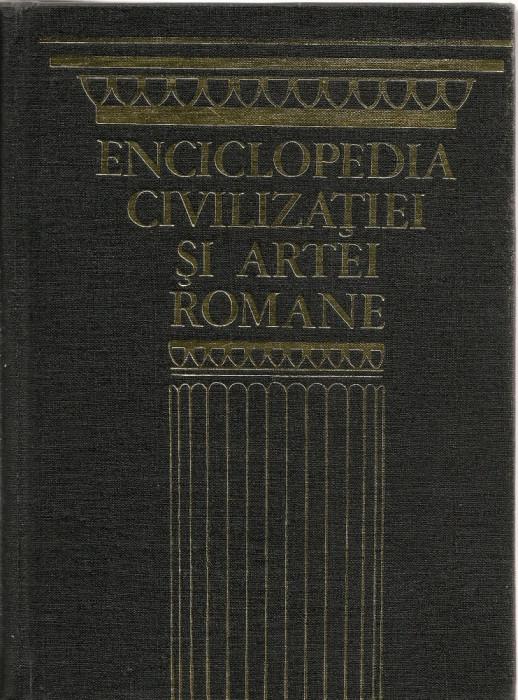 JEAN-CLAUDE FREDOUILLE - ENCICLOPEDIA CIVILIZATIEI SI ARTEI ROMANE