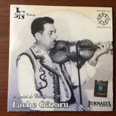 Lache gazaru mihai constantin cd disc muzica de colectie populara folclor vioara