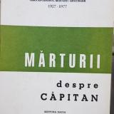 MARTURII DESPRE CAPITAN 1978 MADRID SEMICENTENARUL MISCARII LEGIONARE 1927 1977