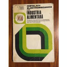 Petculescu - Instalatii Electromecanice din Industria Alimentara. Manual cls XII