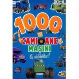 1000 de camioane si masini cu abtibilduri, girasol