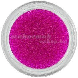 Perle decorative - roz intens 0,5mm foto
