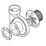 VENTILATOR COMPLET (CARCASA + VENTILATOR) PT. CAZAN VITOLIGNO 100-S ,25-40 kW