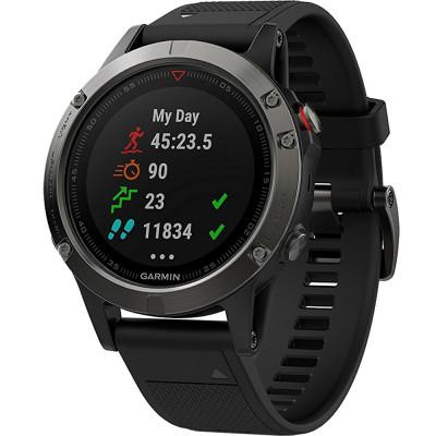 Smartwatch Fenix 5 Sapphire Edition Negru foto