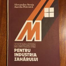 Memorator pentru Industria Zaharului - Stroia / Potcoava (1984 - Ca noua!!!)