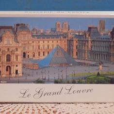 FRANTA- PARIS - MUZEUL LOUVRE- 14 VEDERIALE MUZEULUI SI PICTURI CELEBRE + HARTA