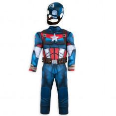 Costum Captain America Deluxe